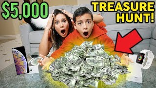 Download $5,000 TREASURE HUNT IN OUR MANSION! **WINNER TAKES ALL** | The Royalty Family Video