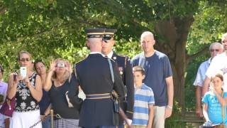 Download Best Video of the Changing of the Guard at Tomb of the Unknowns, Arlington Cemetery Video