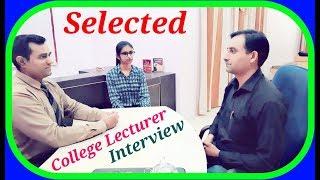 Download English #Lecturer Interview : #Teacher Interview Video
