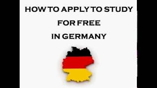Download How To Apply For a Free Undergraduate or Masters Degree Study Programme in Germany Video
