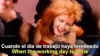 Download Cyndi Lauper - Girls Just Want To Have Fun [Lyrics English - Español Subtitulado] Video