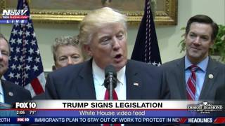 Download FNN: Trump and Miners Speak As POTUS Signs Bill Undoing Obama's Coal Mining Rule Video