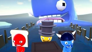 Download ESCAPE THE MAN-EATING WHALE! (Party Panic) Video