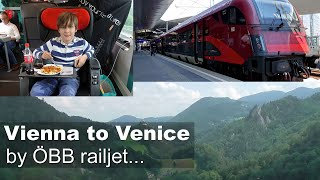 Download Vienna to Venice by railjet train from €29 Video