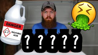 Download I Left 5 Things In Sulfuric Acid For 30 Days... Video