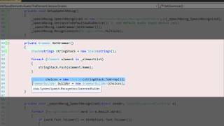 Download Applied Speech recognition in C# Video