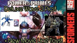 Download Transformers Power of the Primes Deluxe Wave 2 & Studio Series Pics! Video