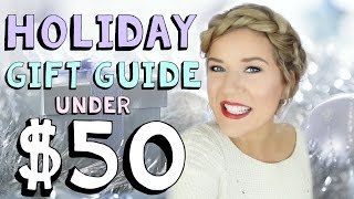 Download Holiday Gift Guide ❄ Boys, Girls & Parents UNDER $50 ❄ Video
