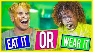 Download EAT IT OR WEAR IT CHALLENGE! Video