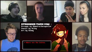 Download ″Stronger Than You - Chara Response″ By Milkychan Reaction Mashup Video