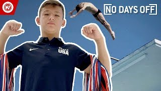 Download 14-Year-Old Does INSANE Diving Tricks | No Days Off Video