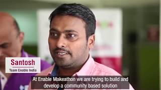 Download Enable Makeathon 2 - Team Enable India Video