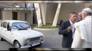 Download Todos los coches del Papa Francisco: Fiats, Ford y un cuatro latas de 1984 Video