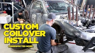 Download Custom Coilover Install (Disrespected Nose) EMOTIONAL DRAMA Video