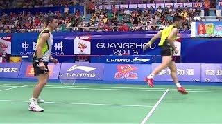 Download M.Ahsan/H.Setiawan v Cai Y./Fu H.F. |MD-SF| Wang Lao Ji BWF World Champ. 2013 Video