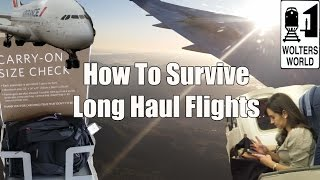 Download How to Survive Long Haul Flights - Travel Tips, Hacks & Tricks Video