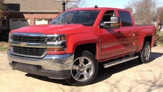 Download 2016 Chevrolet Silverado LT Crew Cab Start Up, Road Test, and In Depth Review Video