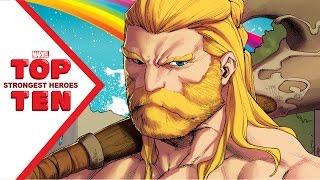 Download Marvel Top 10 Strongest Heroes Video