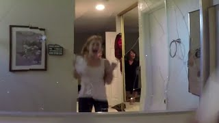 Download Paranormal Activity: The Ghost Dimension: Great Haunted House Scare Prank Video