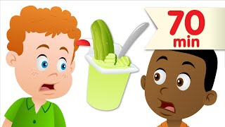 Download Do You Like Pickle Pudding? + More | Kids Songs | Super Simple Songs Video