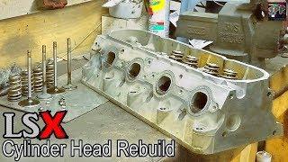 Download LS Engine Cylinder Head Rebuild (Junkyard Style) + New Brake Lines | Turbo S10 Minitruck Build Video