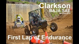 Download Clarkson BAJA SAE Maryland 2018 First Lap of Endurance & Rollover Video