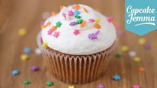 Download The Perfect Vanilla Cupcake Recipe   Cupcake Jemma Video