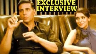 Download Akshay Kumar plays a prank on Asin - Exclusive Interview Video