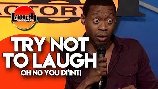 Download Try Not To Laugh   Oh No You Di'int   Stand Up Comedy Laugh Factory Video