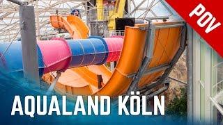 Download Alle Rutschen im Aqualand Köln | All Water Slides Onride (2016 Version) Video