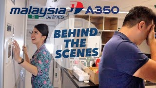Download Behind The Scenes - Malaysia Airlines A350-900 Delivery Flight Video