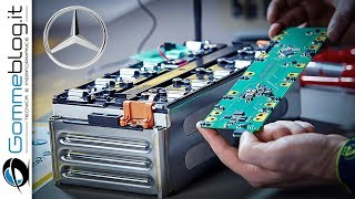 Download Mercedes Electric ENGINE - Battery PRODUCTION ASSEMBLY Video