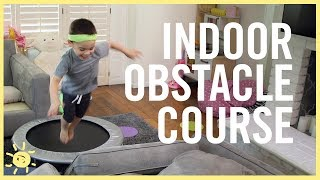 Download PLAY | Indoor Obstacle Course! Video