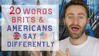 Download 20 Words Brits and Americans Say Differently Video