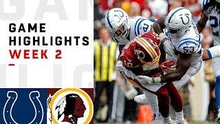 Download Colts vs. Redskins Week 2 Highlights | NFL 2018 Video