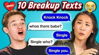 Download TEENS READ 10 BREAKUP TEXTS (React) Video