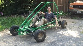 Download painting the off road go kart part 2 Video
