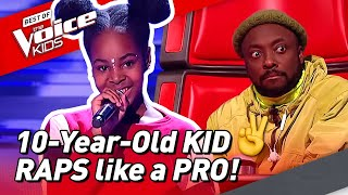Download 10-Year-Old RAPS like a real PRO in The Voice Kids Video