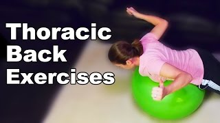 Download Thoracic Back Exercises & Stretches (Ys, Ts, Ws and Is) - Ask Doctor Jo Video