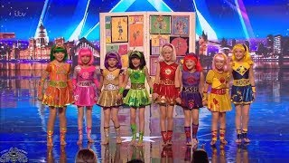 Download Britain's Got Talent 2018 Cartoon Heroes Full Audition S12E05 Video
