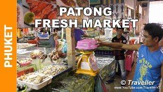 Download Banzaan Food Market, Patong Beach - Phuket Markets - Fresh Phuket seafood - Thai food market Video