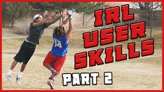 Download DID THIS NINJA JUST RUN INTO A TREE?!? - IRL User Skills Challenge Part 2 Video