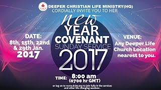 Download Covenant Sunday Service (22 Jan., 2017) Video