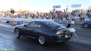 Download Spoolin' Supra Goes Berserk, Takes Out Entire Super Street Class! Video