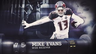 Download #75 Mike Evans (WR, Buccaneers) | Top 100 Players of 2015 Video