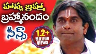Download Hasya Brahma   #Brahmanandam Telugu Comedy Scenes   Vol 24 Video