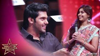 Download Arya vai vetkapada vaitha RJ Maha   Galatta Nakshatra Awards Video