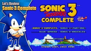 Download Sonic 3 Complete Review - The full Sonic 3 package? Video