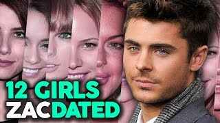 "Download 12 Girls Zac Efron Has ""Dated"" Video"