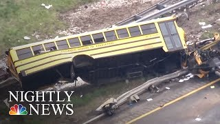 Download At Least 2 Dead, Many Injured In New Jersey School Bus Crash | NBC Nightly News Video